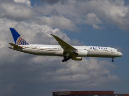 Mame @ TYOさんが、成田国際空港で撮影したユナイテッド航空 787-9の航空フォト(飛行機 写真・画像)