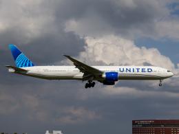 Mame @ TYOさんが、成田国際空港で撮影したユナイテッド航空 777-322/ERの航空フォト(飛行機 写真・画像)