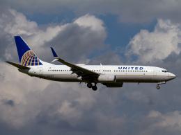 Mame @ TYOさんが、成田国際空港で撮影したユナイテッド航空 737-824の航空フォト(飛行機 写真・画像)