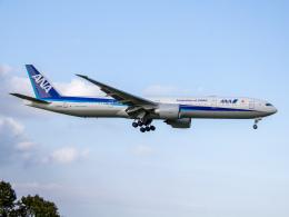 Mame @ TYOさんが、成田国際空港で撮影した全日空 777-381/ERの航空フォト(飛行機 写真・画像)