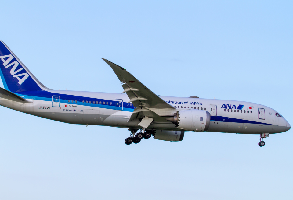 Mame @ TYOさんの全日空 Boeing 787-8 Dreamliner (JA840A) 航空フォト