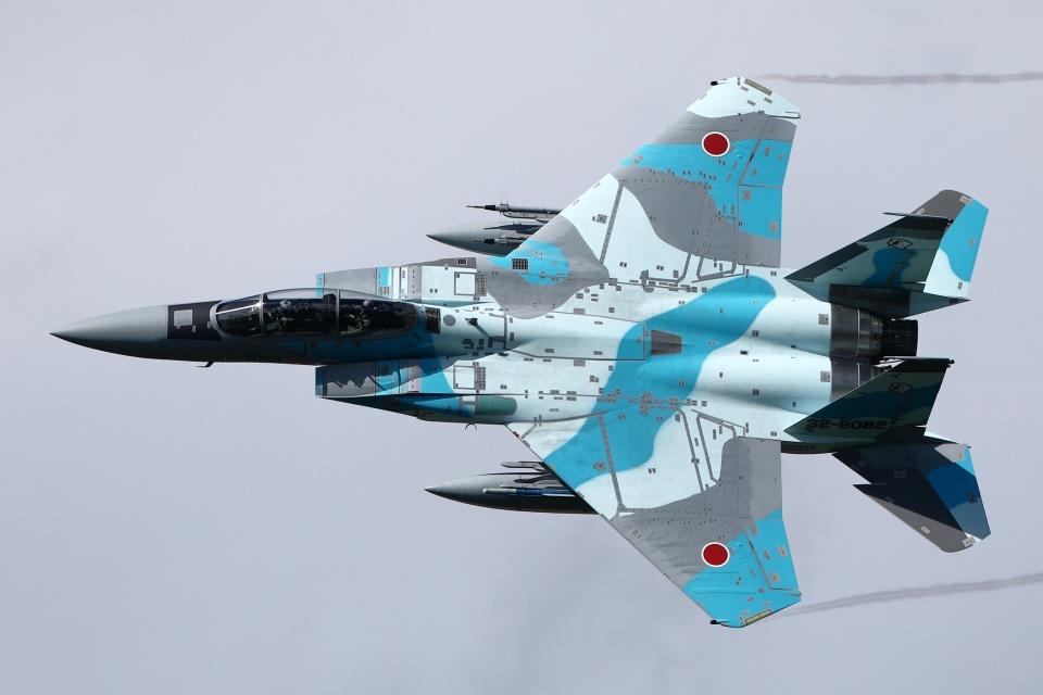 soiwbusさんの航空自衛隊 Mitsubishi F-15DJ Eagle (32-8082) 航空フォト