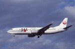 kumagorouさんが、仙台空港で撮影した日本航空 737-446の航空フォト(飛行機 写真・画像)