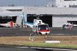 KAZFLYERさんが、東京ヘリポートで撮影した東邦航空 AS350B Ecureuilの航空フォト(飛行機 写真・画像)