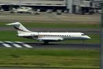 rjnsphotoclub-No.07さんが、羽田空港で撮影したマレーシア個人 BD-700 Global Express/5000/6000の航空フォト(写真)