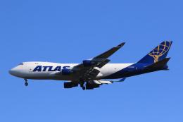 inyoさんが、成田国際空港で撮影したアトラス航空 747-4B5F/SCDの航空フォト(飛行機 写真・画像)