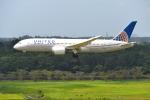 mojioさんが、成田国際空港で撮影したユナイテッド航空 787-8 Dreamlinerの航空フォト(飛行機 写真・画像)
