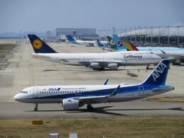 LOVE767さんが、関西国際空港で撮影した全日空 A320-271Nの航空フォト(飛行機 写真・画像)