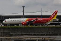 じゃがさんが、成田国際空港で撮影したベトジェットエア A321-271Nの航空フォト(飛行機 写真・画像)