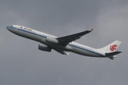 じゃがさんが、成田国際空港で撮影した中国国際航空 A330-343Xの航空フォト(飛行機 写真・画像)
