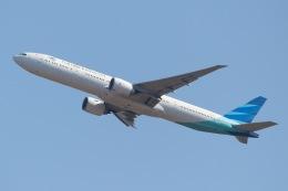 じゃがさんが、成田国際空港で撮影したガルーダ・インドネシア航空 777-3U3/ERの航空フォト(飛行機 写真・画像)