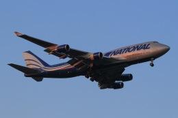 じゃがさんが、成田国際空港で撮影したナショナル・エア・カーゴ 747-428(BCF)の航空フォト(飛行機 写真・画像)