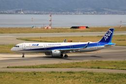 TAKAHIDEさんが、関西国際空港で撮影した全日空 A321-272Nの航空フォト(飛行機 写真・画像)
