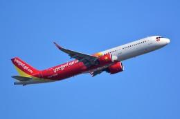 サンドバンクさんが、成田国際空港で撮影したベトジェットエア A321-271Nの航空フォト(飛行機 写真・画像)