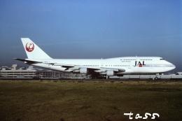 tassさんが、羽田空港で撮影した日本航空 747-146B/SR/SUDの航空フォト(飛行機 写真・画像)