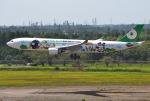 mojioさんが、成田国際空港で撮影したエバー航空 A330-302Xの航空フォト(飛行機 写真・画像)