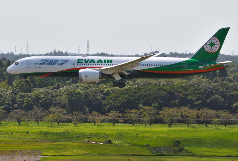 mojioさんのエバー航空 Boeing 787-9 (B-17885) 航空フォト