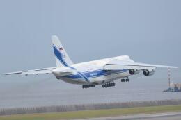md11jbirdさんが、神戸空港で撮影したヴォルガ・ドニエプル航空 An-124-100 Ruslanの航空フォト(飛行機 写真・画像)