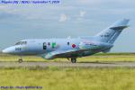 Chofu Spotter Ariaさんが、新潟空港で撮影した航空自衛隊 U-125A (BAe-125-800SM)の航空フォト(飛行機 写真・画像)