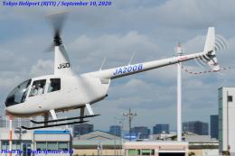 Chofu Spotter Ariaさんが、東京ヘリポートで撮影したオートパンサー R44 IIの航空フォト(飛行機 写真・画像)
