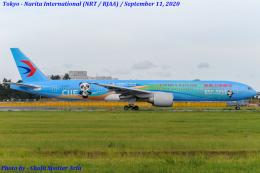 中国東方航空 Boeing 777-300 (B-2002)  航空フォト | by Chofu Spotter Ariaさん  撮影2020年09月11日%s