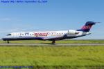 Chofu Spotter Ariaさんが、新潟空港で撮影したアイベックスエアラインズ CL-600-2C10 Regional Jet CRJ-702の航空フォト(飛行機 写真・画像)