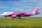 Chofu Spotter Ariaさんが、新潟空港で撮影したピーチ A320-214の航空フォト(飛行機 写真・画像)