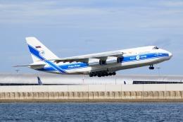 monkeyさんが、関西国際空港で撮影したヴォルガ・ドニエプル航空 An-124-100 Ruslanの航空フォト(飛行機 写真・画像)