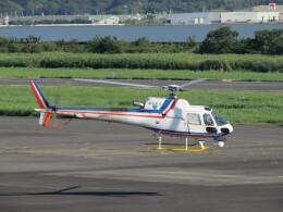 F.YUKIHIDEさんが、岡南飛行場で撮影した四国航空 AS350B3 Ecureuilの航空フォト(飛行機 写真・画像)
