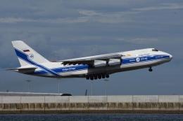あおいそらさんが、関西国際空港で撮影したヴォルガ・ドニエプル航空 An-124-100 Ruslanの航空フォト(飛行機 写真・画像)