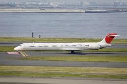 flying_horseさんが、羽田空港で撮影した日本航空 MD-90-30の航空フォト(飛行機 写真・画像)