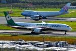 mojioさんが、成田国際空港で撮影したエバー航空 787-9の航空フォト(飛行機 写真・画像)
