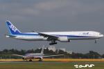 tassさんが、成田国際空港で撮影した全日空 777-381/ERの航空フォト(飛行機 写真・画像)