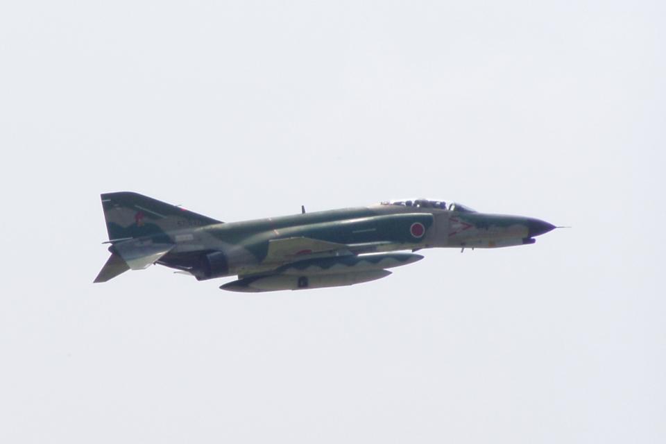 多楽さんの航空自衛隊 Mitsubishi RF-4EJ Phantom II (57-6371) 航空フォト