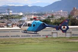 ゆうゆう@NGO さんが、名古屋飛行場で撮影した中日新聞社 EC135P2の航空フォト(飛行機 写真・画像)