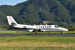 Gambardierさんが、岡南飛行場で撮影した岡山航空 560 Citation Ultraの航空フォト(飛行機 写真・画像)