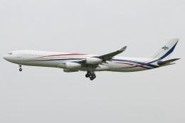 たみぃさんが、成田国際空港で撮影したスワジランド政府 A340-313の航空フォト(飛行機 写真・画像)