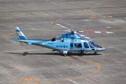 ゆうゆう@NGO さんが、名古屋飛行場で撮影した愛知県警察 A109E Powerの航空フォト(飛行機 写真・画像)