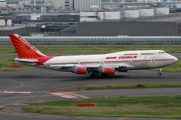 たみぃさんが、羽田空港で撮影したエア・インディア 747-437の航空フォト(飛行機 写真・画像)