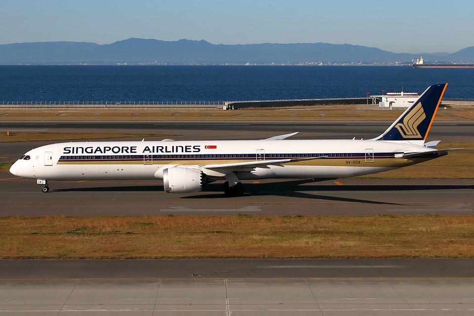 たみぃさんのシンガポール航空 Boeing 787-10 (9V-SCA) 航空フォト