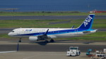 るかりおさんが、羽田空港で撮影した全日空 A320-214の航空フォト(飛行機 写真・画像)
