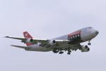 senyoさんが、成田国際空港で撮影したノースウエスト航空 747-251F/SCDの航空フォト(飛行機 写真・画像)