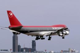 senyoさんが、成田国際空港で撮影したノースウエスト航空 747-251Bの航空フォト(飛行機 写真・画像)