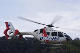 ラムさんが、静岡ヘリポートで撮影したジャネット EC135P2+の航空フォト(飛行機 写真・画像)