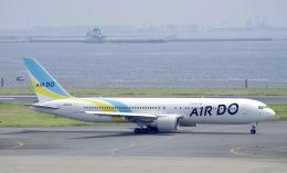 かっきーさんが、羽田空港で撮影したAIR DO 767-381/ERの航空フォト(飛行機 写真・画像)