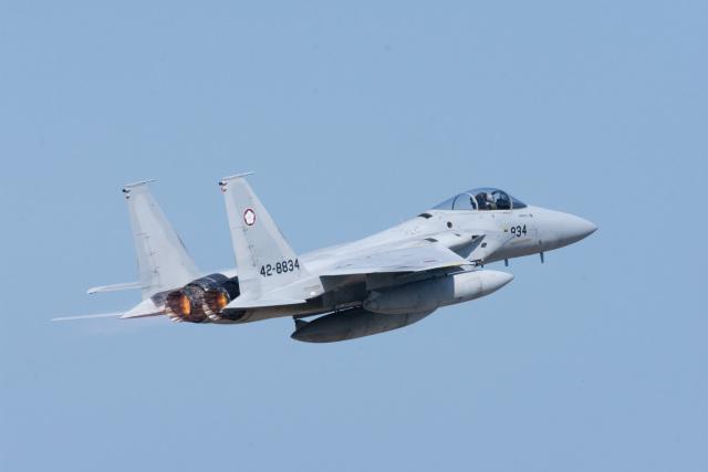 マックパパさんが、新田原基地で撮影した航空自衛隊 F-15J Eagleの航空フォト(飛行機 写真・画像)