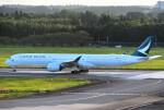 mojioさんが、成田国際空港で撮影したキャセイパシフィック航空 A350-1041の航空フォト(飛行機 写真・画像)