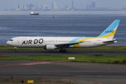 やつはしさんが、羽田空港で撮影したAIR DO 767-33A/ERの航空フォト(飛行機 写真・画像)