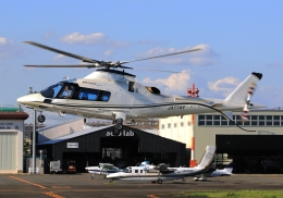 LOTUSさんが、八尾空港で撮影した日本法人所有 A109E Powerの航空フォト(飛行機 写真・画像)