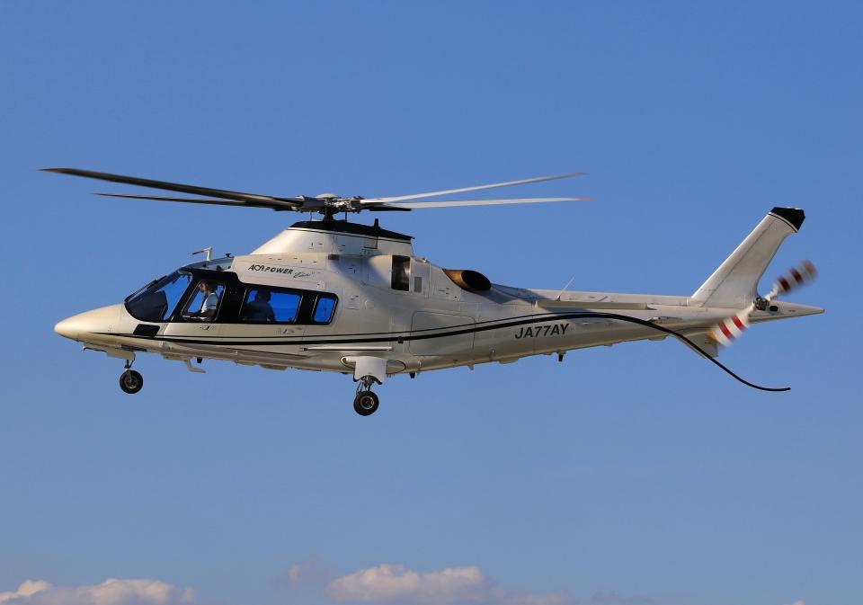 LOTUSさんの日本法人所有 Agusta A109 (JA77AY) 航空フォト